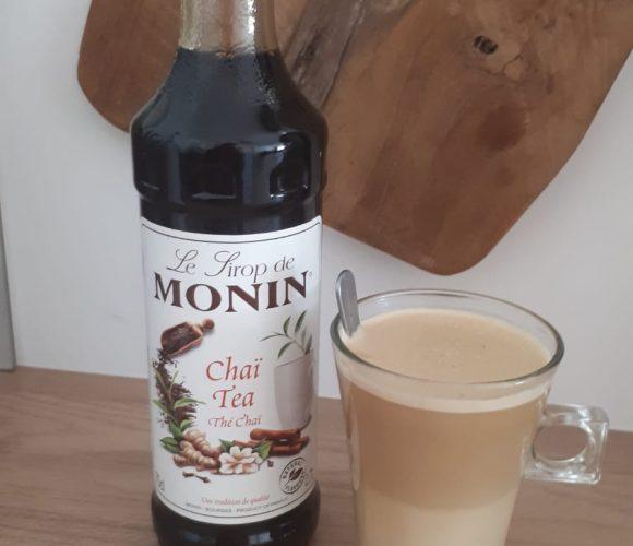J'ai testé pour vous mONIN-Sirop Thé Chai