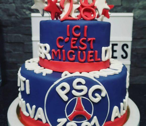 Gâteau PSG