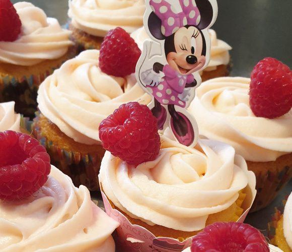 Cupcakes Minnie à la framboise ❤