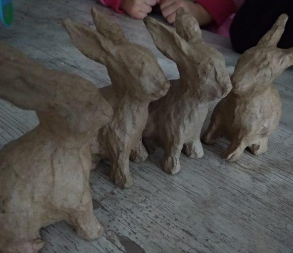 J'ai testé pour vous les lapins en papier mâché