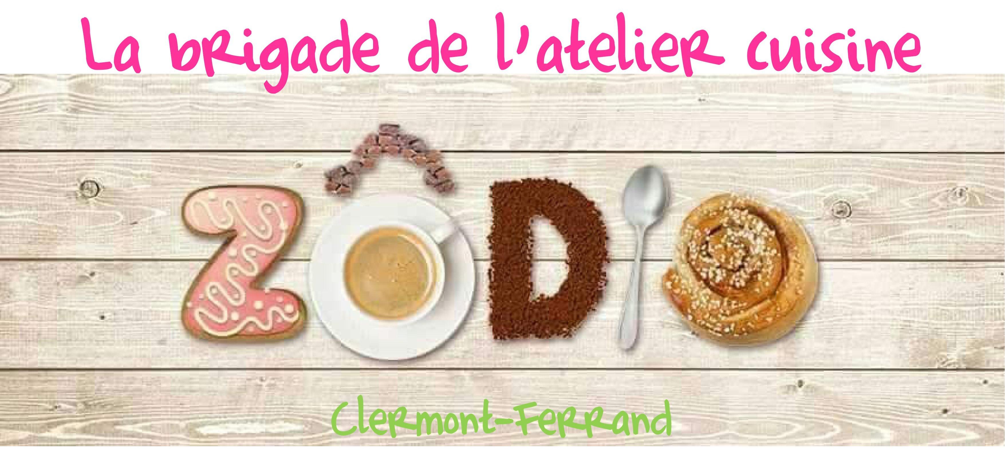 """La brigade de l'atelier cuisine Zodio """"Clermont-Ferrand"""""""