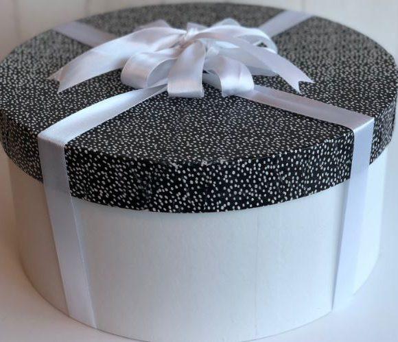 Ma boîte à chapeau transformée en boîte cadeau !