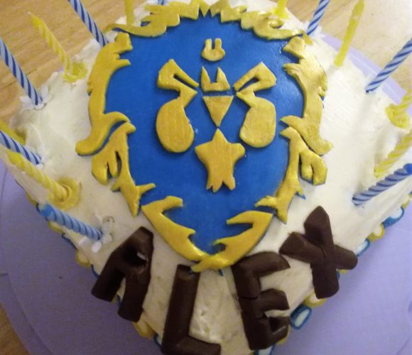 Gâteau World of Warcraft