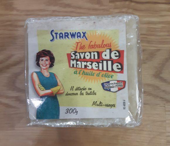J'ai testé pour vous savon de Marseille STARWAX