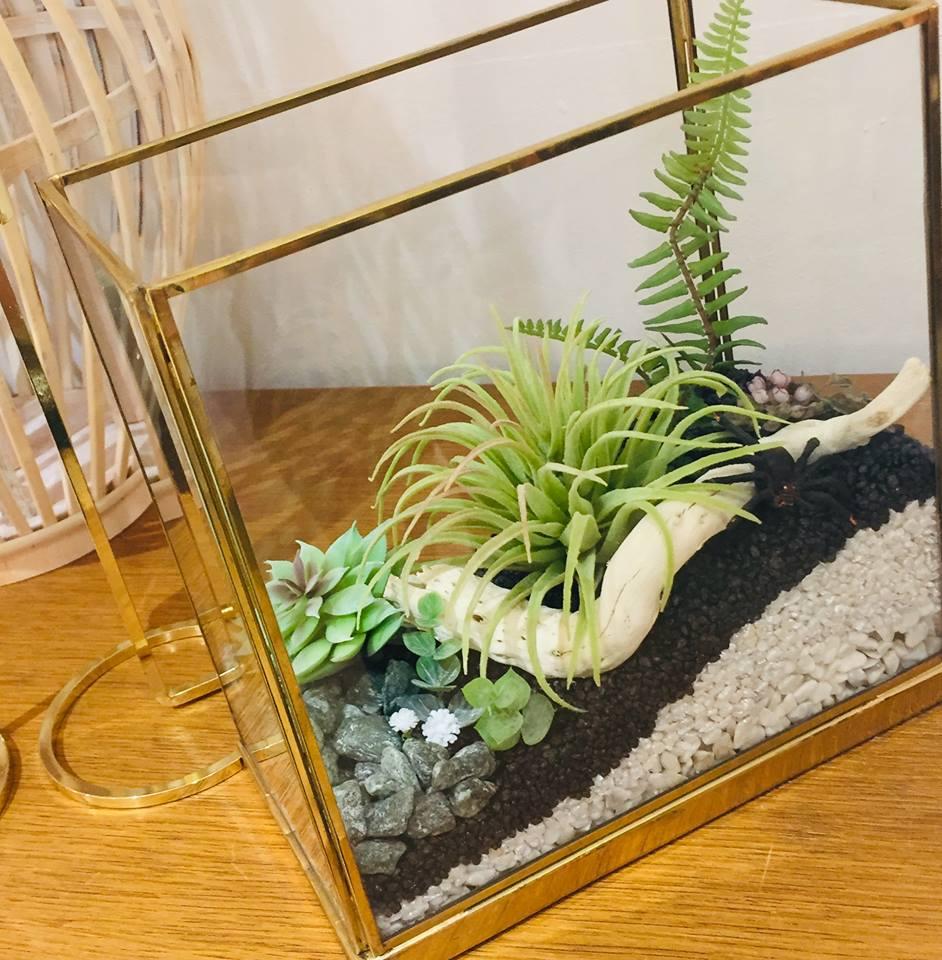 Ma verrière dorée en version jardin japonais !