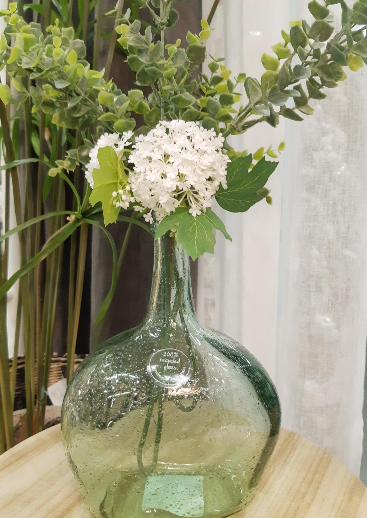 J'ai testé pour vous vase dame jeanne en verre coloré