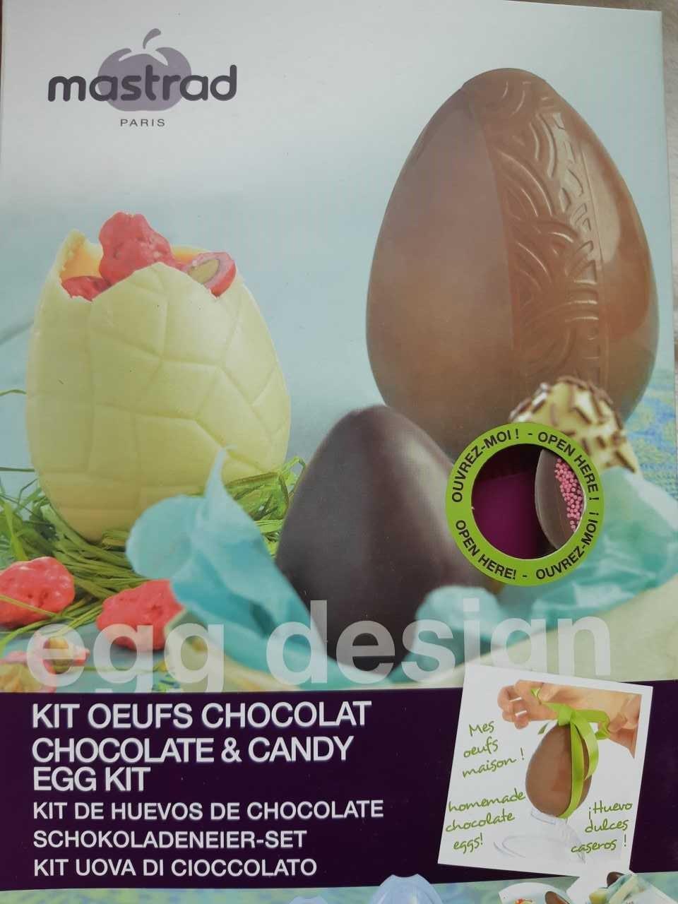 Kit œuf chocolat