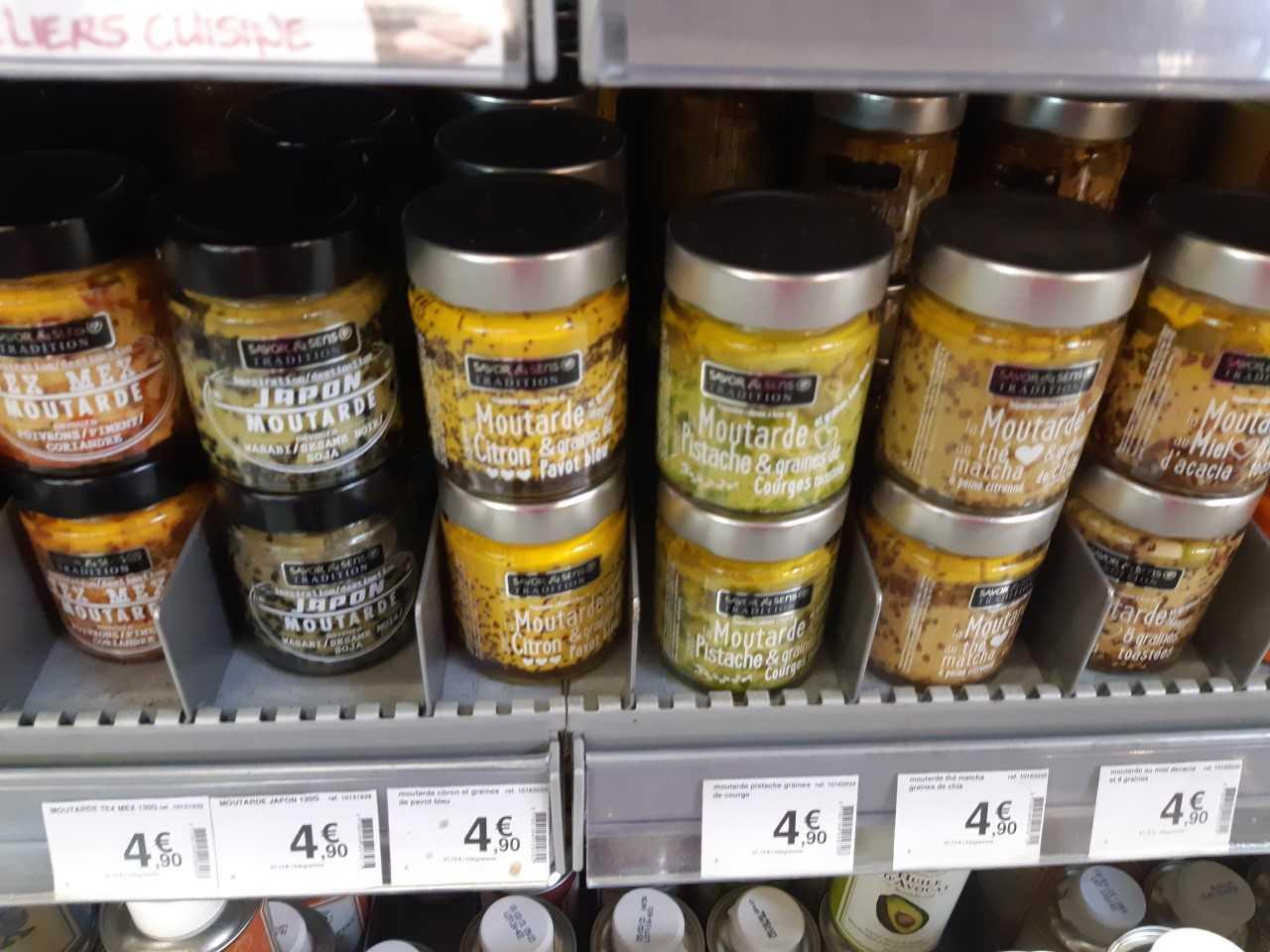 Les moutardes Bio