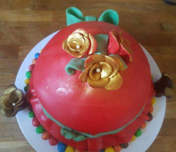 Gâteaux d'anniversaires pour les 13 ans de ma fille et les 40 ans de mon mari