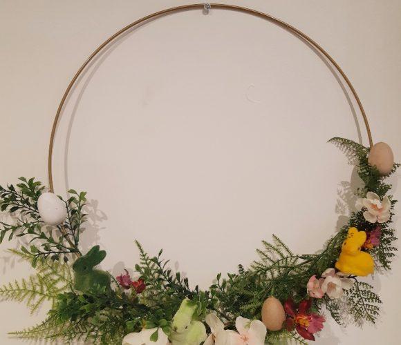 J'ai testé pour vous une couronne de fleurs printanières