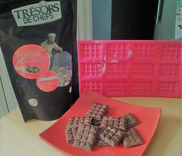 Mes tablinettes aux trois chocolats
