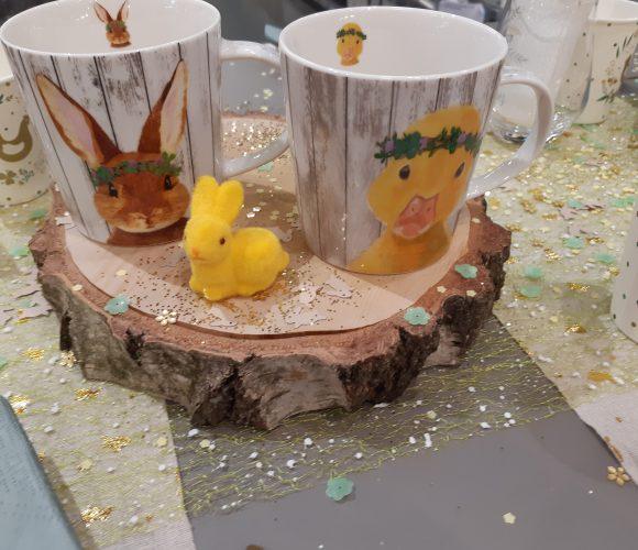 Les jolis mugs de pâques sont arrivés!!!!!