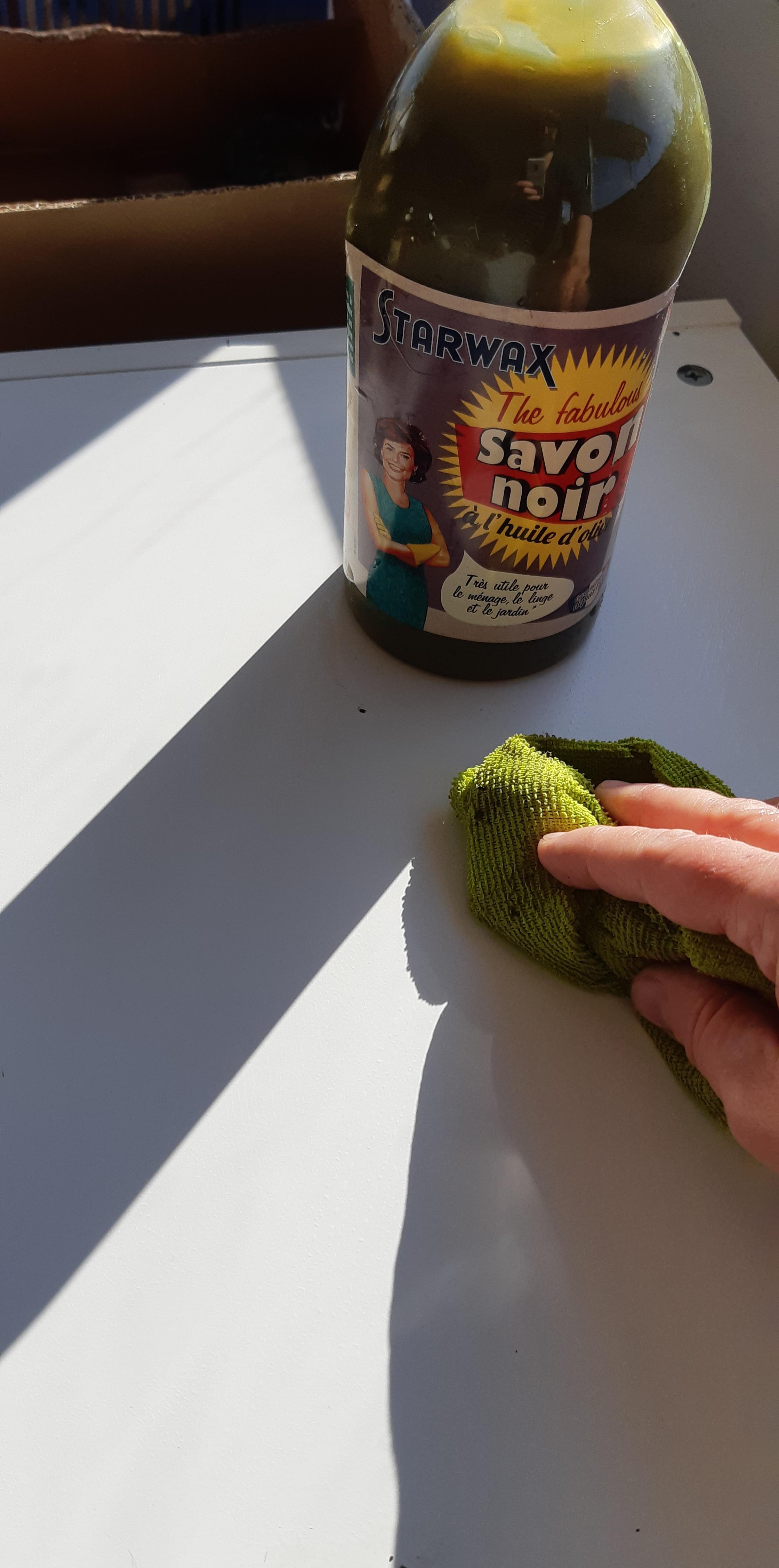 J'ai testé pour vous le savon noir à l'huile d'olive Starwax