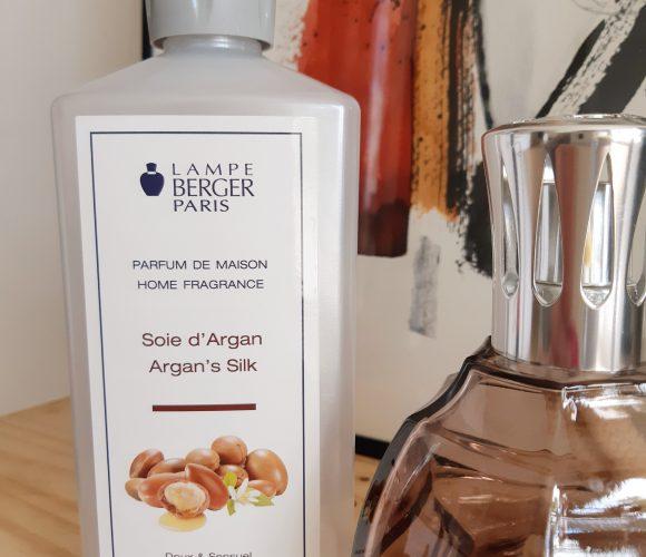 Le parfum Lampe Berger «Soie d'Argan»