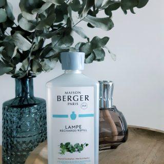 """Le parfum Lampe Berger """"Fraîcheur d'Eucalyptus"""""""