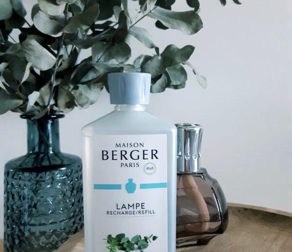 Le parfum Lampe Berger «Fraîcheur d'Eucalyptus»