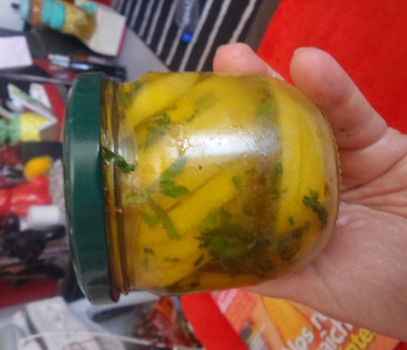 Citron confit huile d olive