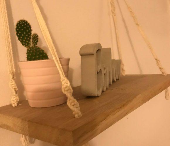 J'ai testé pour vous kESIA ART Fil macramé 100% coton blanc naturel 1,50mm