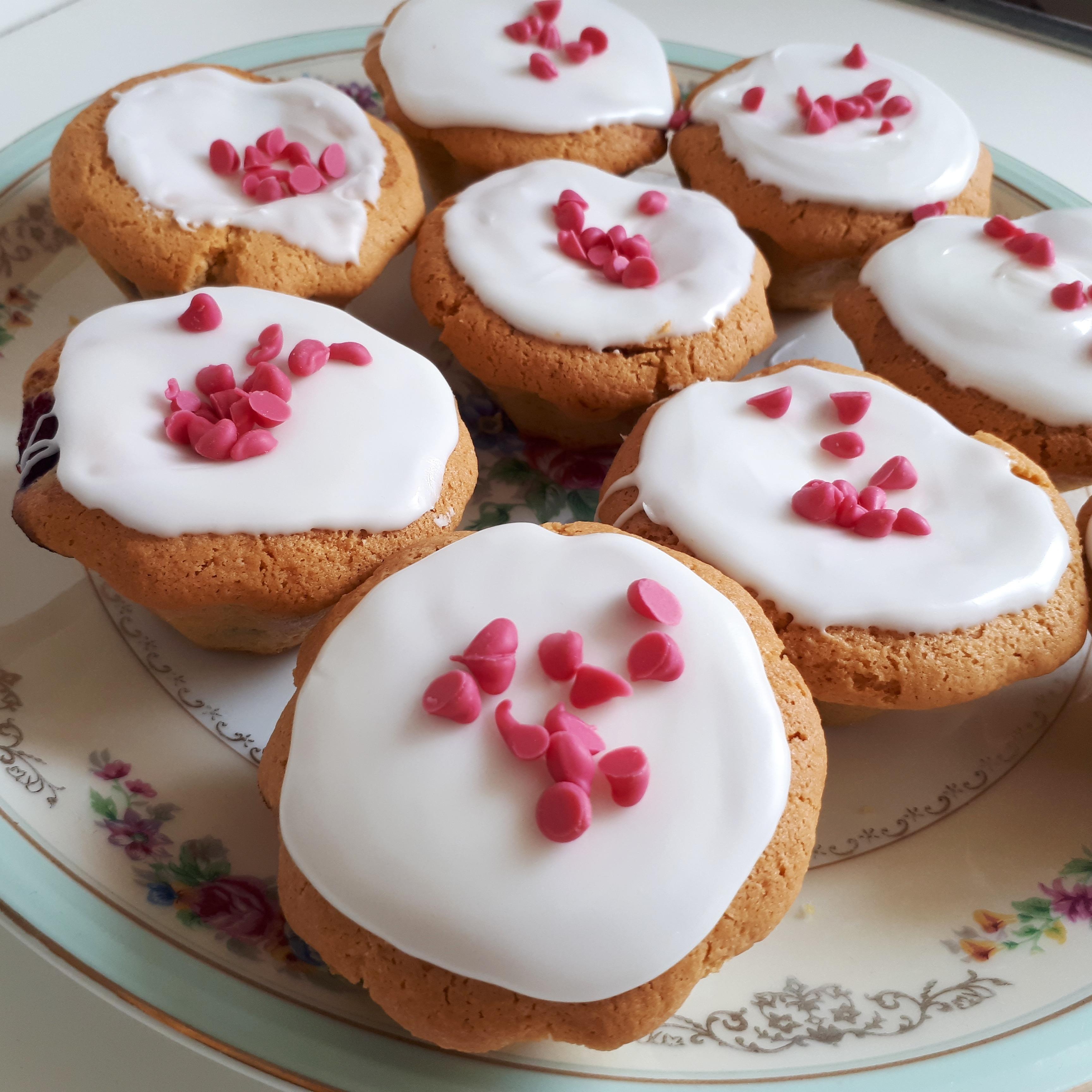 Muffins aux framboises fondant pâtissier Pastidécor