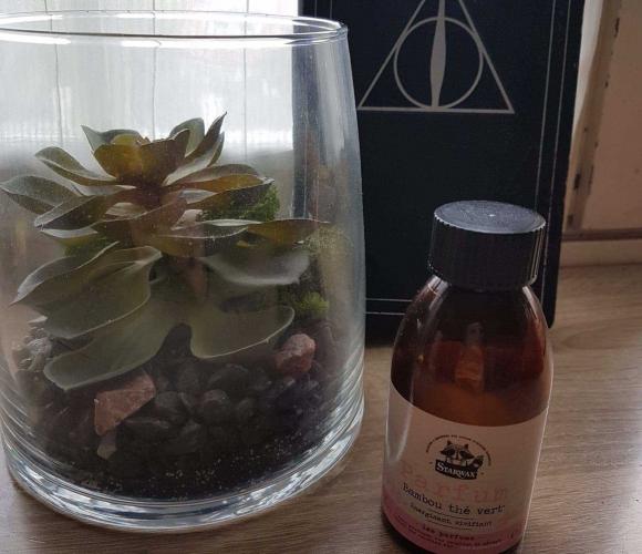 J'ai testé pour vous le parfum bambou thé vert de STARWAX