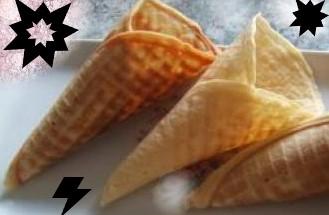 Cornet pour vos glaces 🍧