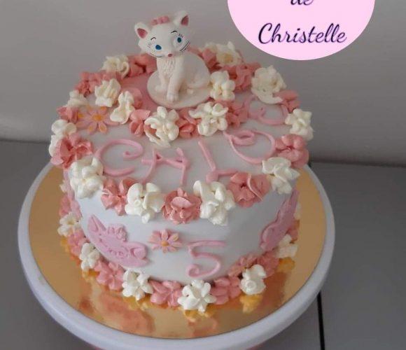 Cake design Marie des aristochats 🐱🐱