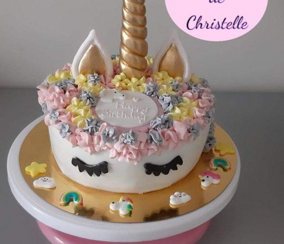 Gâteau anniversaire Licorne 🦄🦄