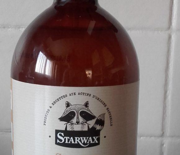 J'ai testé pour vous starwax  Super Récurant au bicarbonate et  savon noir à l'huile de lin