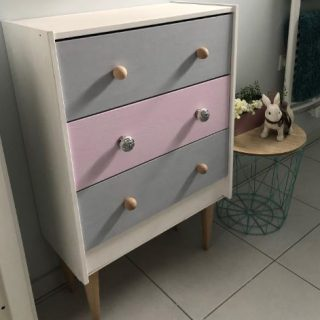 Ma commode IKEA relookée !