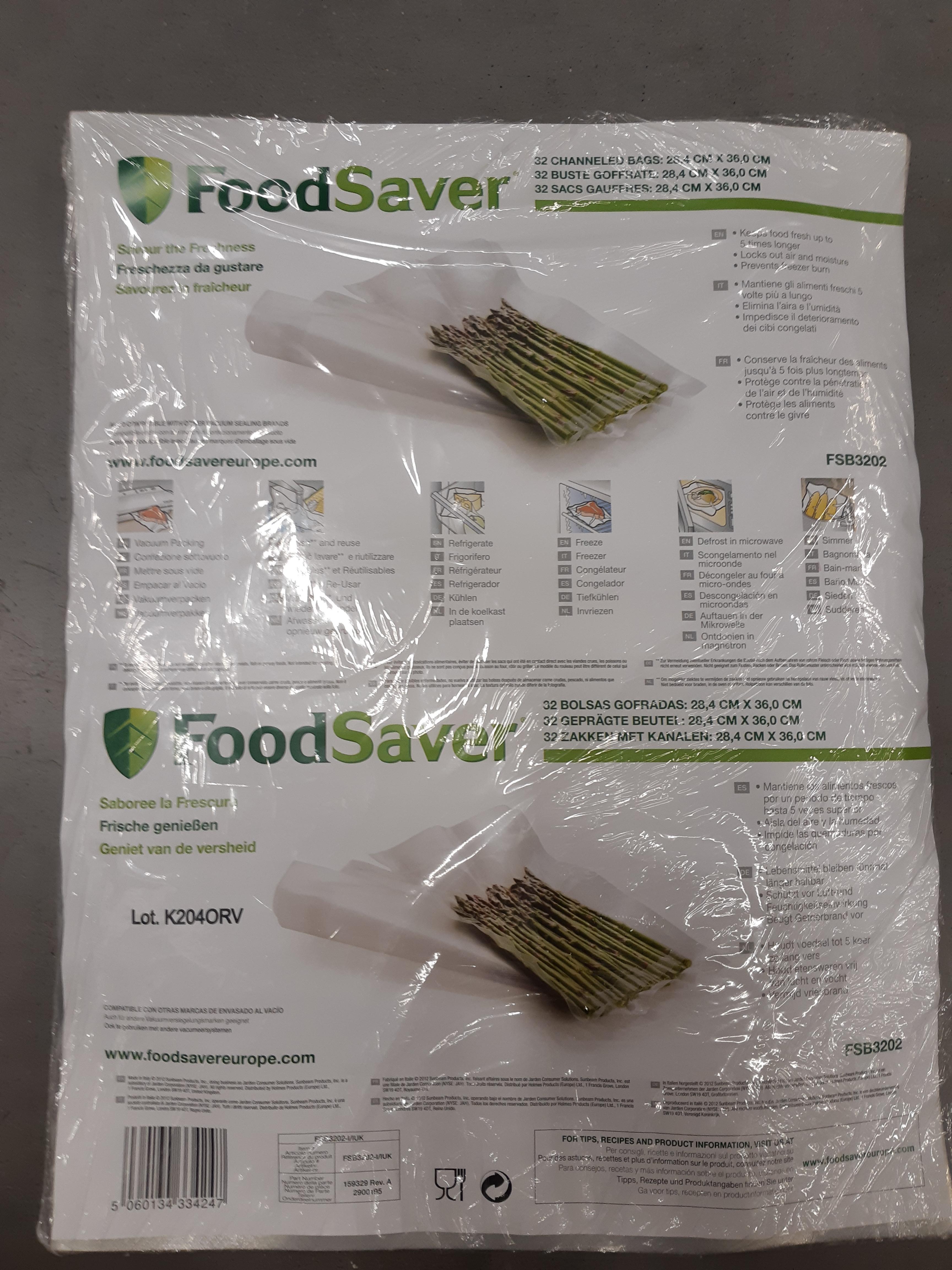J'ai testé pour vous ma démonstration Foodsaver avec les feuilles