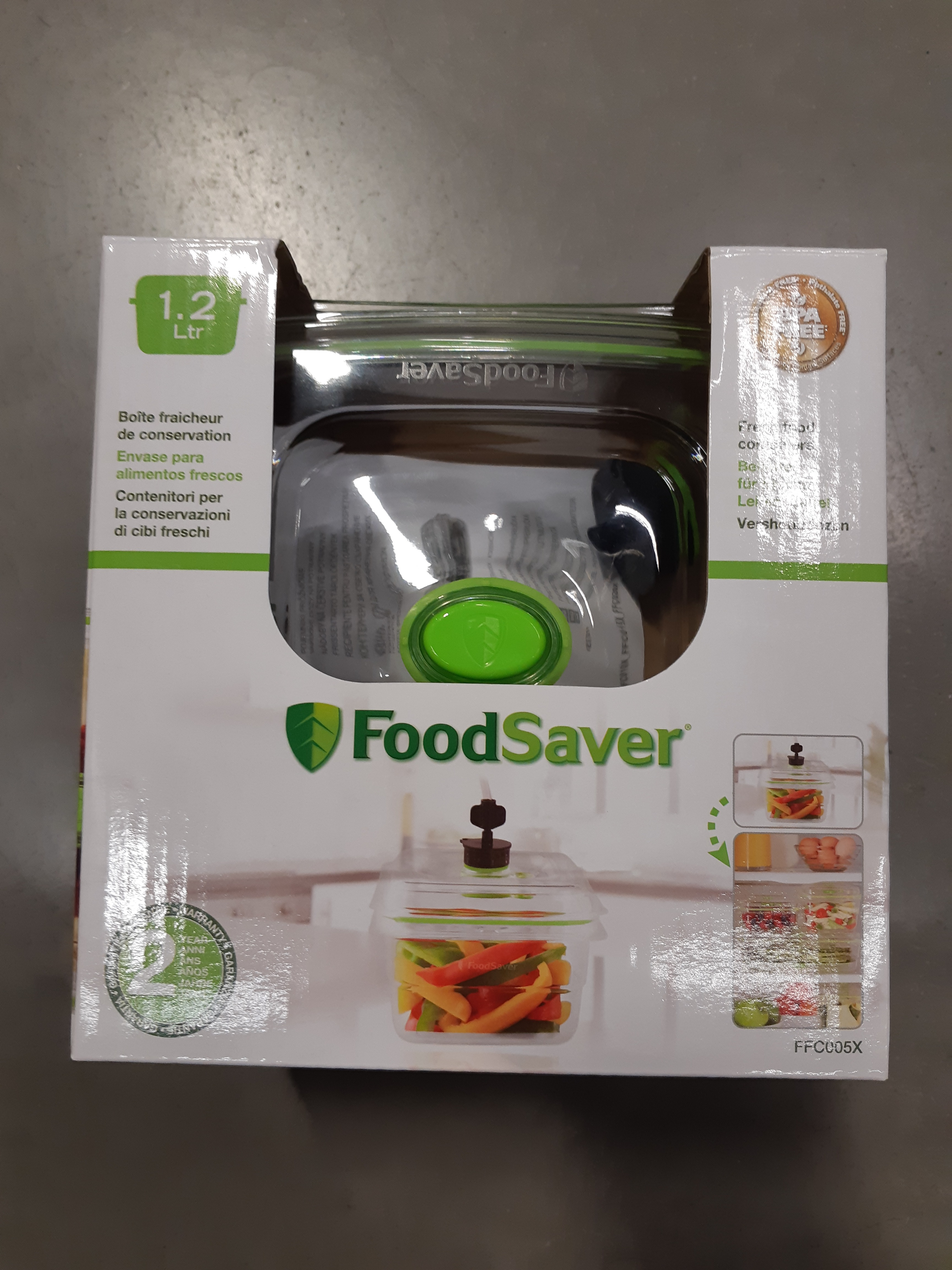 J'ai testé pour vous ma démonstration Foodsaver avec la boite Foodsaver