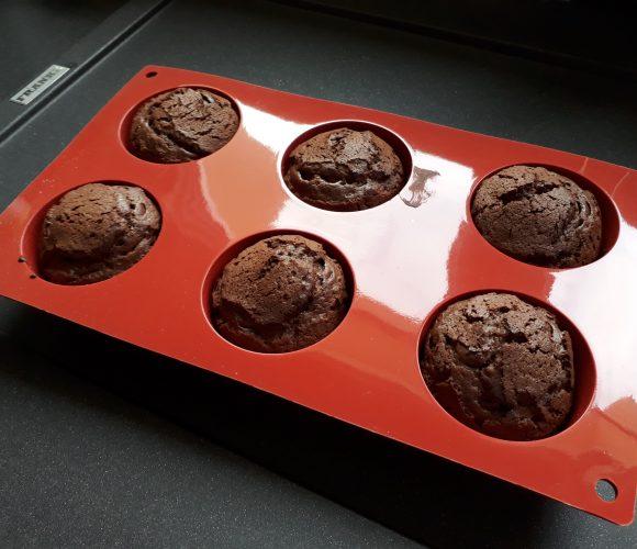 J'ai testé pour vous le Moule Siliconflex 6 muffins 7cm