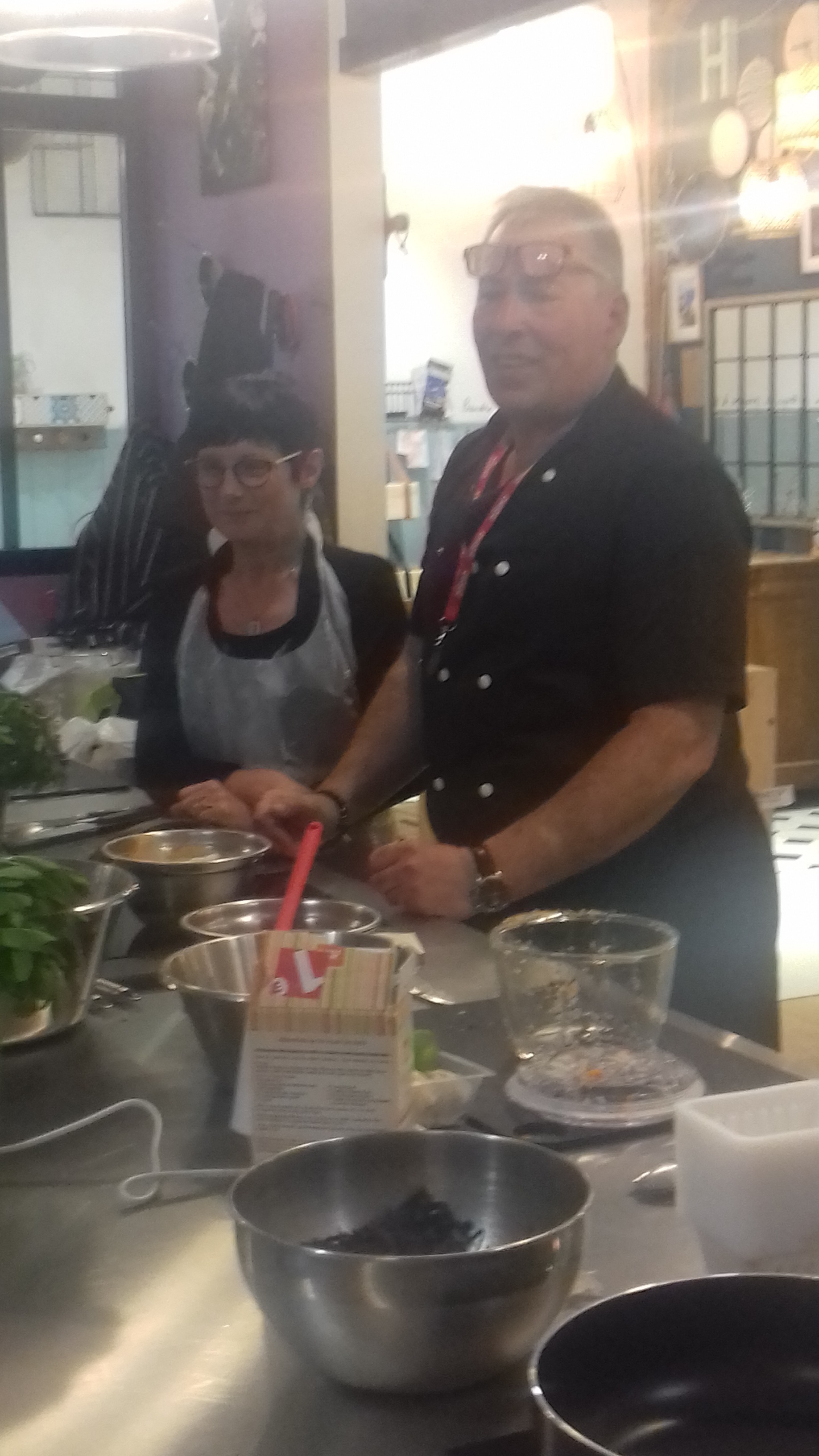 J'ai testé pour vous l'atelier nems  bobun vietnamien  de Chef Philippe  à Plan de campagne  😉