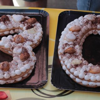 Number cake façon Tiramisu