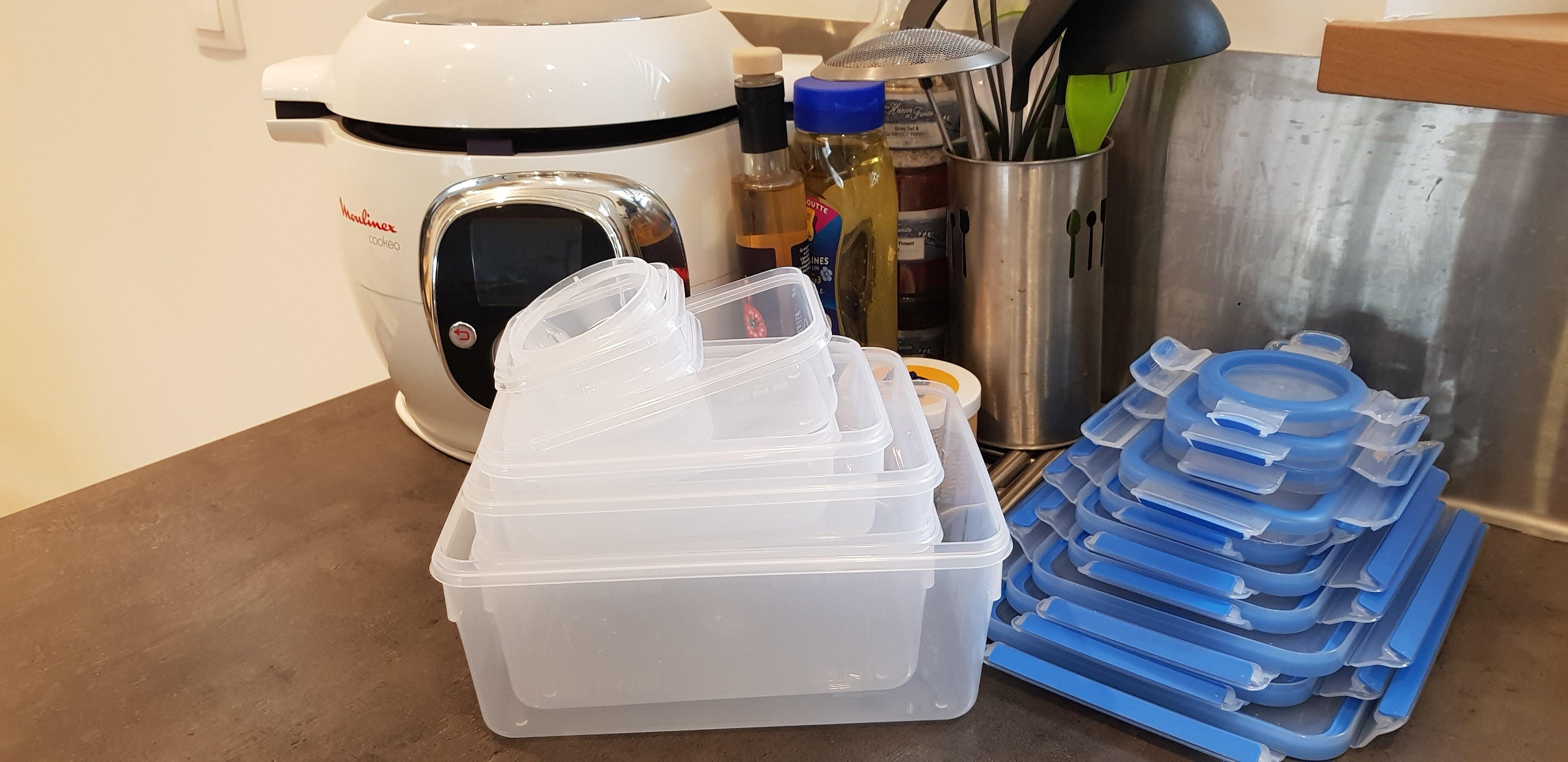 J'ai testé pour vous les boites de conservation en lot EMSA