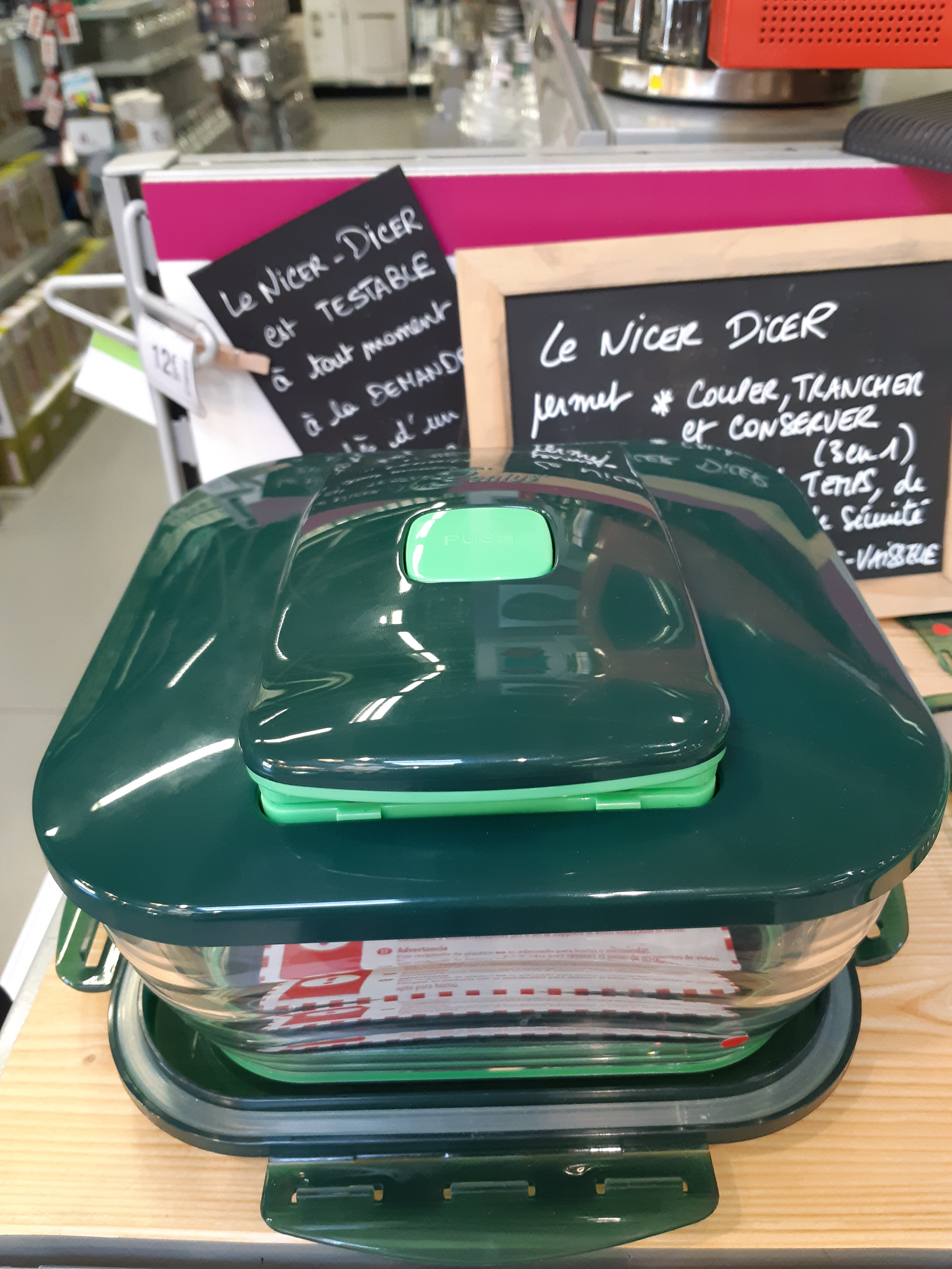 Le Nicer Dicer pour Maman!!!!!!!