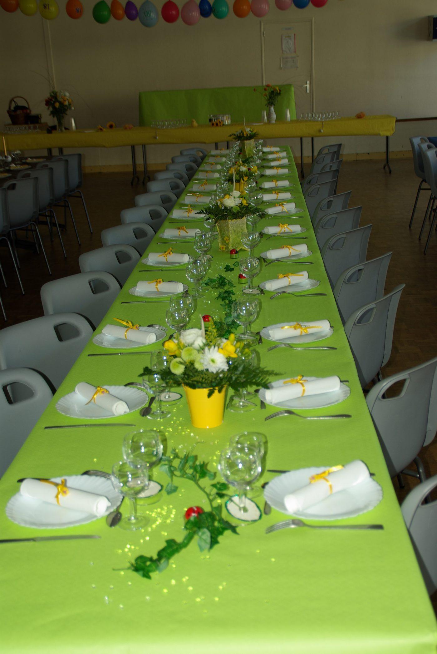 Table printemps