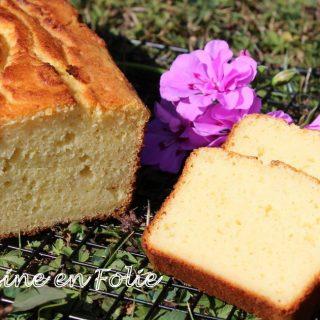 Cake citron vert et coco