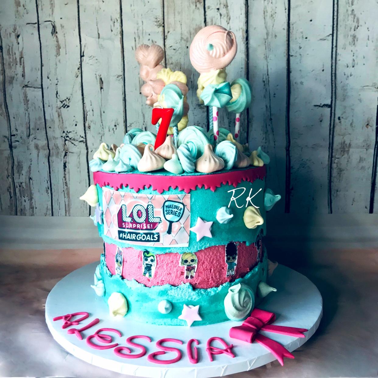 Faultline LOL Cake, gâteau d'anniversaire