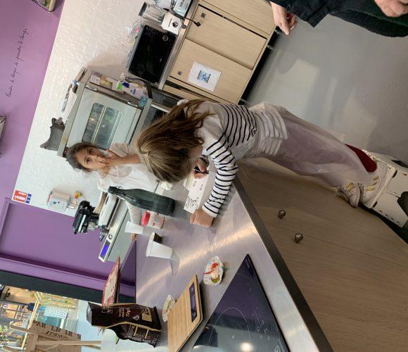 J'ai testé pour vous atelier cuillinaire enfant tartelette pistache – fraise tagada