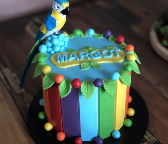 Tropical Cake  🦜