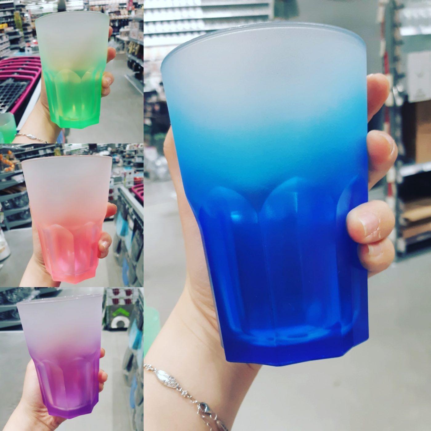 J'ai testé pour vous les verres de couleur Amefa
