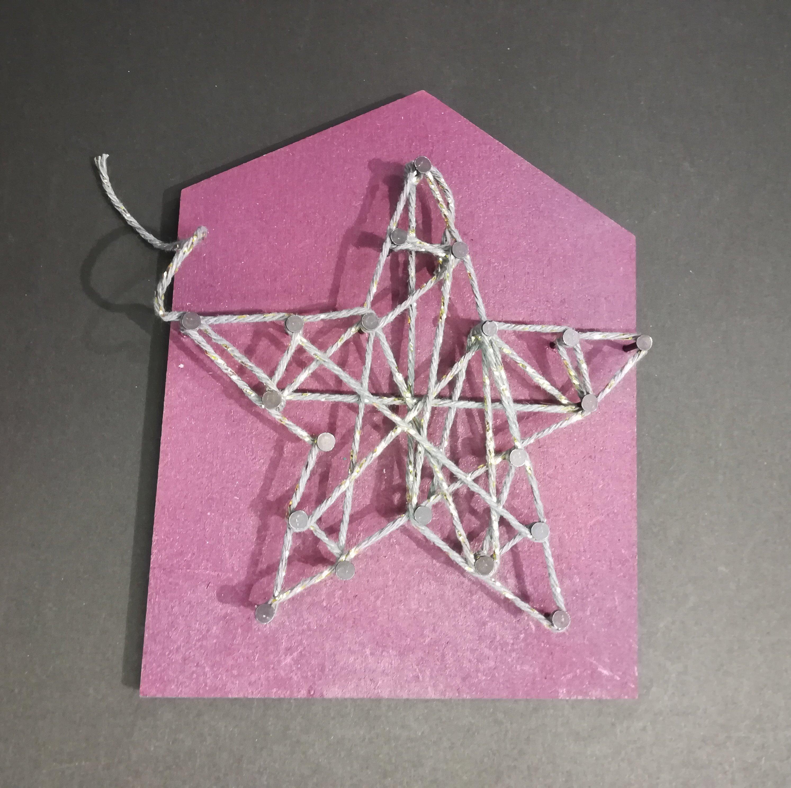 Mon tableau en String-Art, simple et amusant