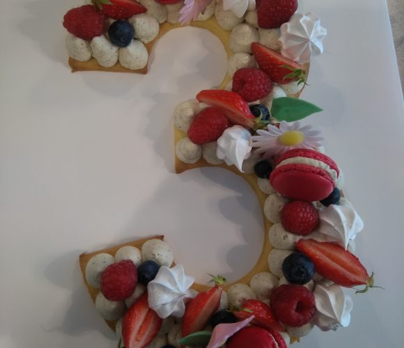 Atelier Cuisine : Number Cake