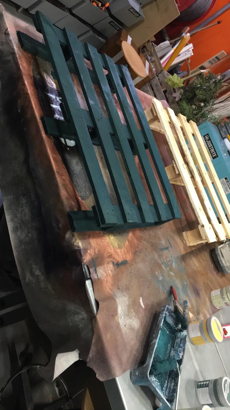 J'ai testé pour vous peinture meuble bleu pétrole Libéron