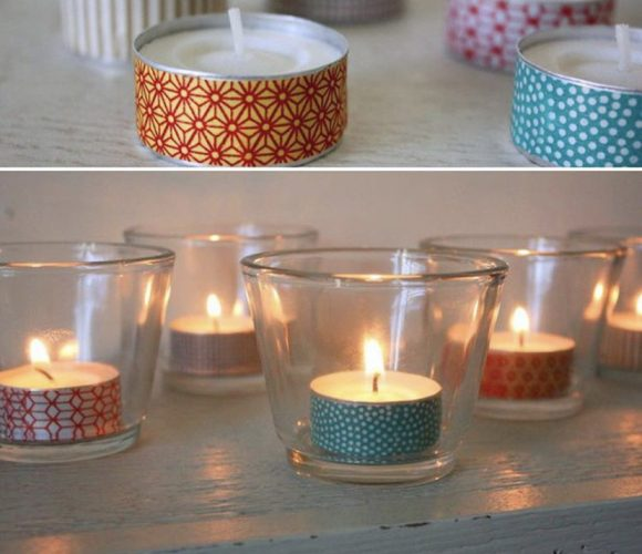 DIY rapide bougies