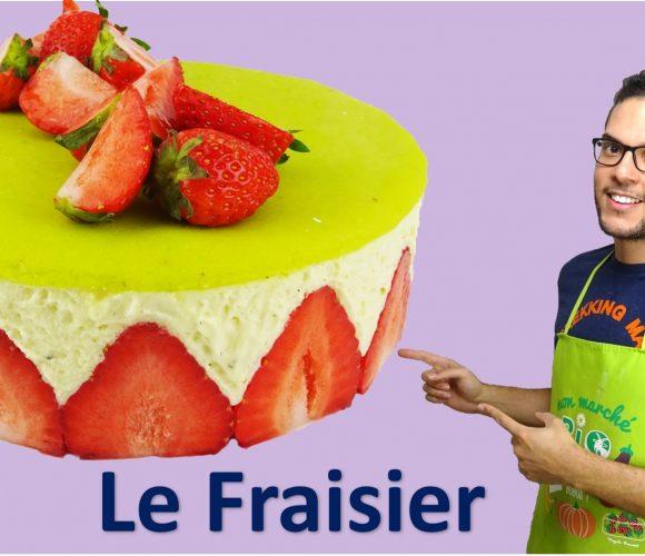 LE FRAISIER, façon CAP pâtisserie