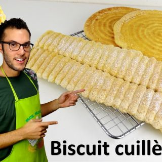 LE BISCUIT CUILLÈRE, façon CAP pâtisserie