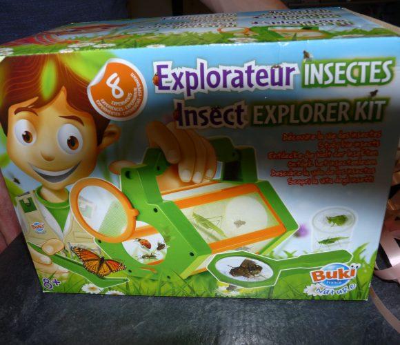 J'ai testé pour vous explorateur à insectes