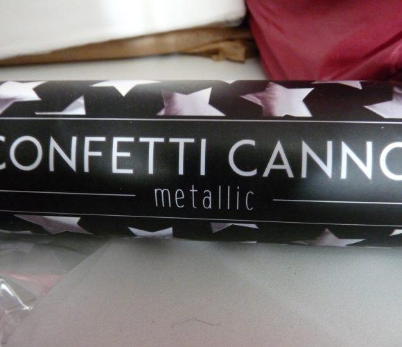 J'ai testé pour vous canon confettis étoile